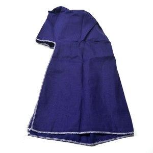 Capuz para soldador, confeccionado em tecido 100% algodão, costuras duplas reforçadas.