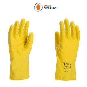 Luva de latex amarela (Yeling)