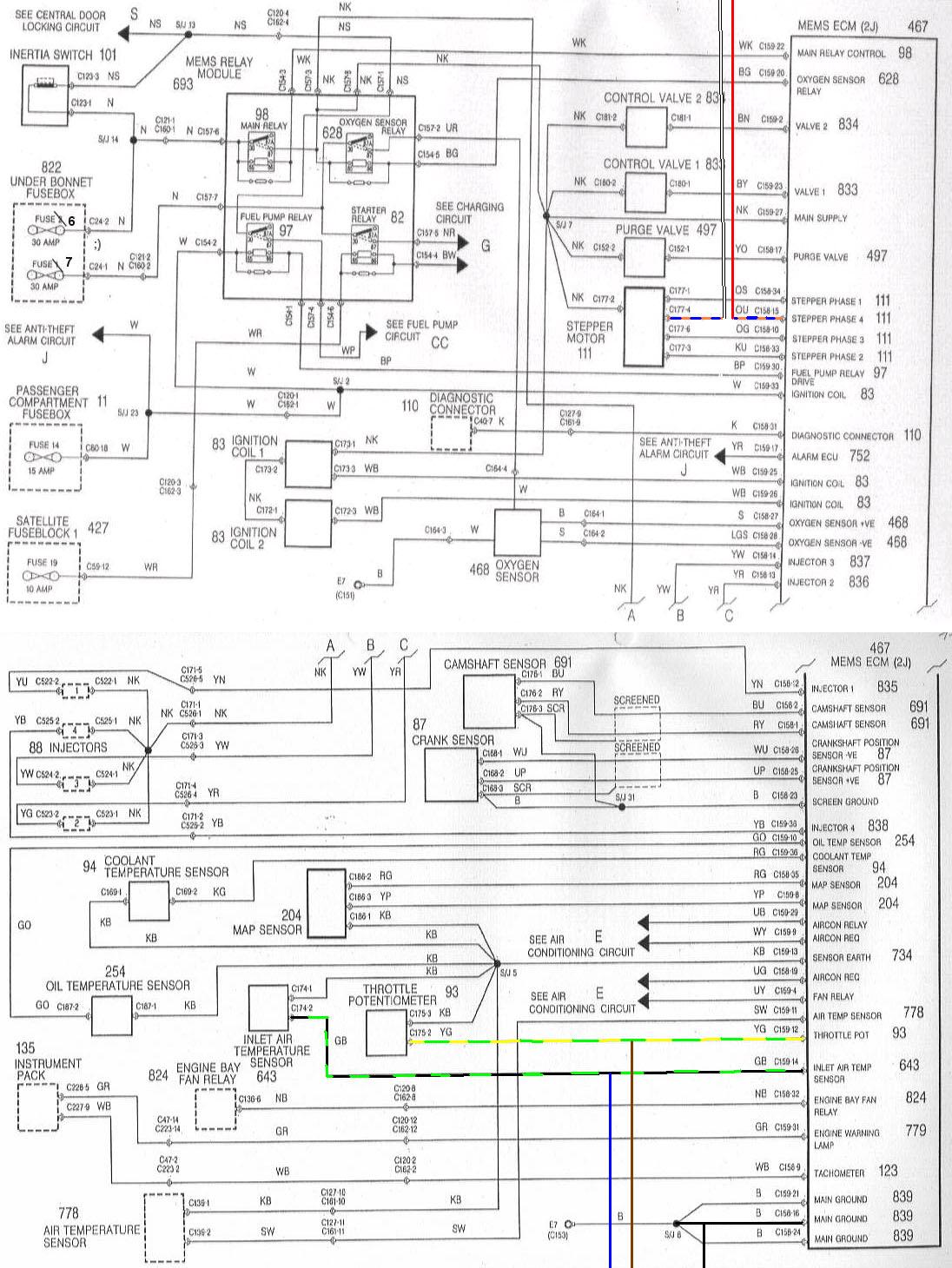 Dodge Ke Line Diagrams