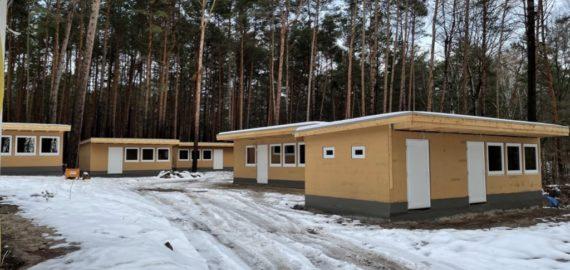 Bautagebuch Camp Bohsdorf