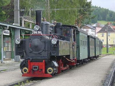 Bild zeigt die bauartgleiche U.6 (298.56) in Mariazell