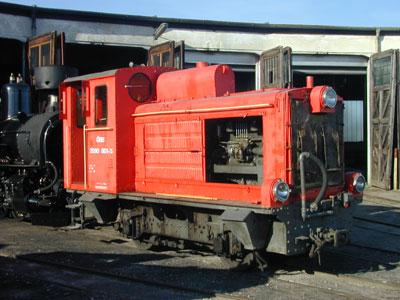 benzinelektrische Lok später dieselelektrisch 2090.01