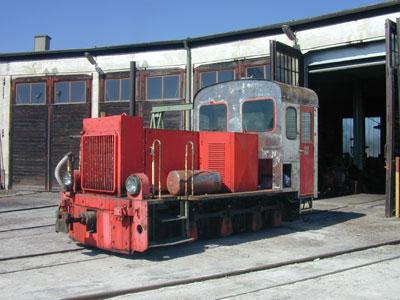dieselhydraulische Lok 2092.03