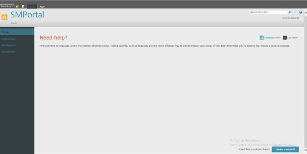 Service Manager Self-Service Portal Boş Ekran Problemi ve Çözümü_7