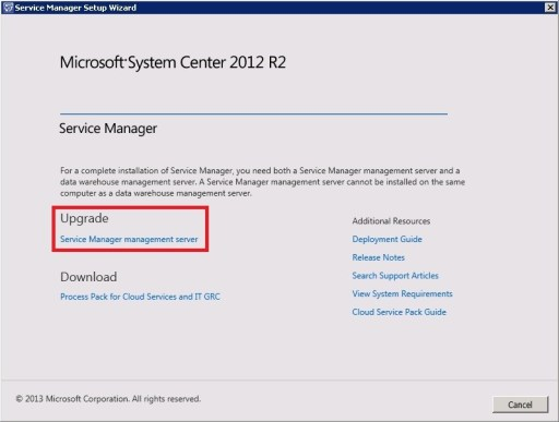 Upgrade Service Manager 2012 Sp1 to 2012 R2_24_1