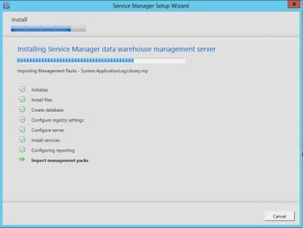 Service Manager 2012 R2 DataWarehose Kurulum ve Ayarlar_14