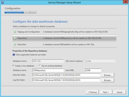 Service Manager 2012 R2 DataWarehose Kurulum ve Ayarlar_4