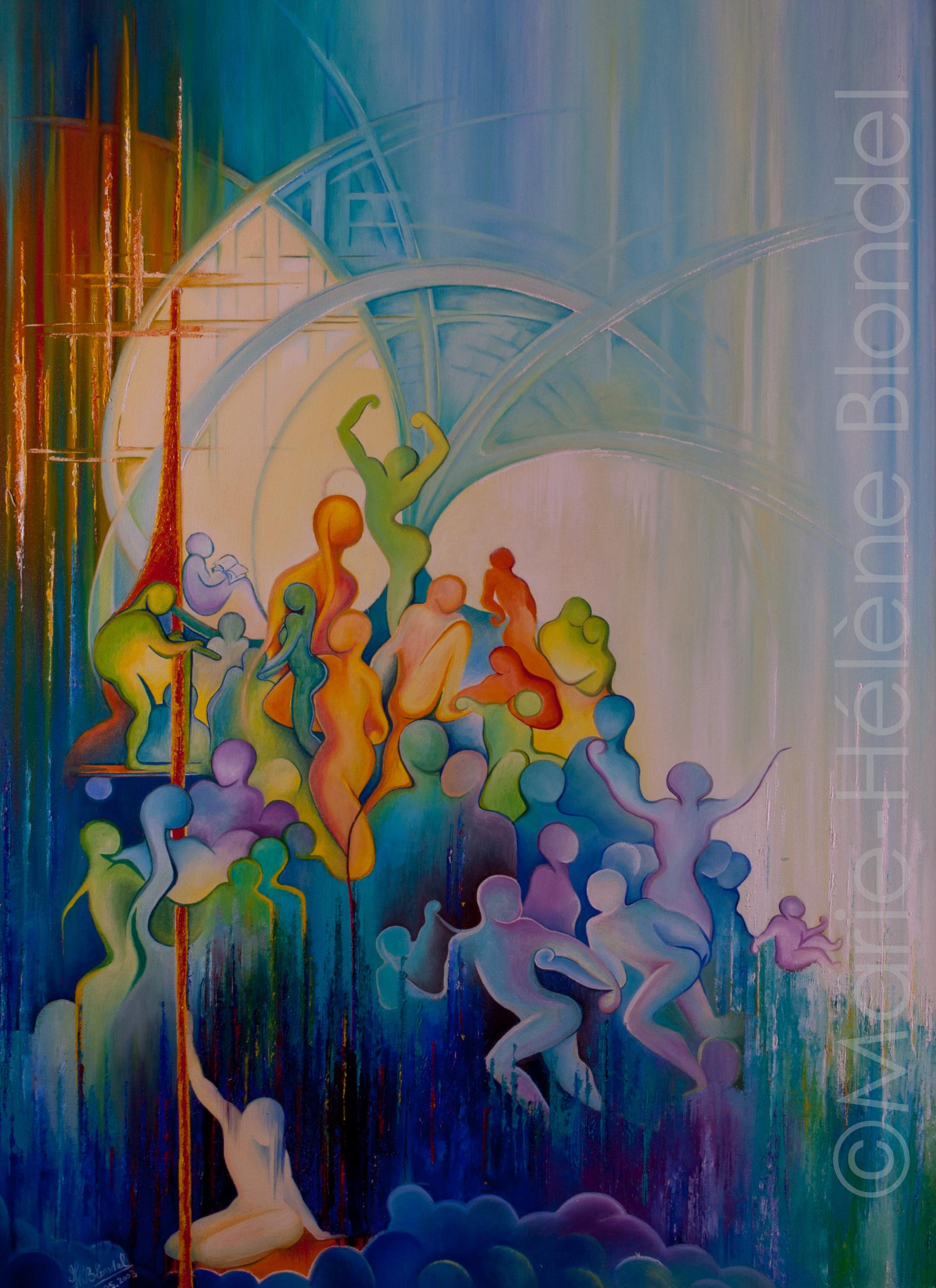 Solitude 2 – 2003 – Huile sur toile – 80 X 60