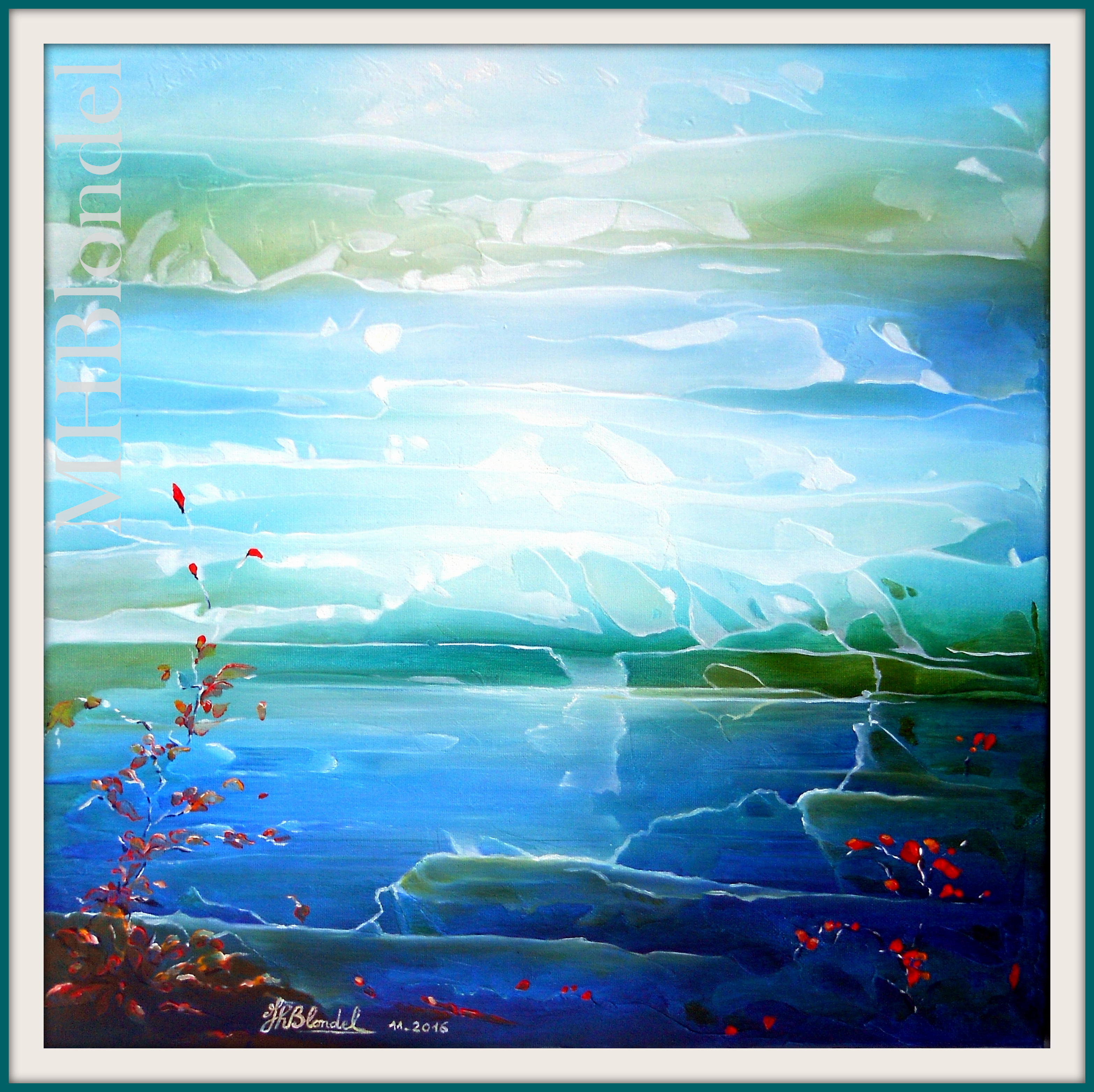 Dream 2 – Huile sur toile – 50 X 50 cm – 350€