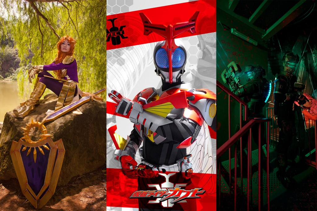 Cosplay photography 101 intro mhdalif some cosplay shoots ive done so far dessie as leona from league of legends ks jack as kamen rider kabuto hyper form and ronin armoury dustsplay as sciox Gallery