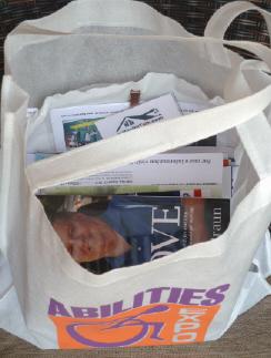 Abilities Expo product literature