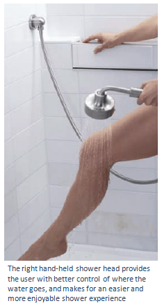 Save money by selecting the right handshower