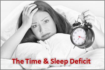 The Time & Sleep Deficit
