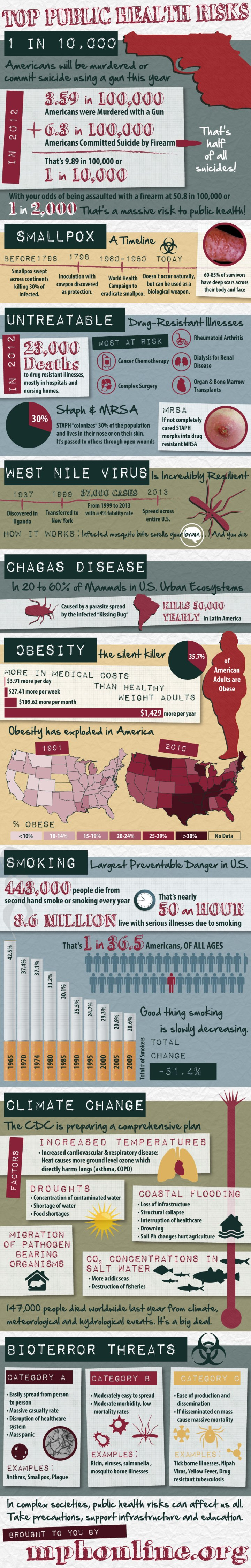 Top public health risks