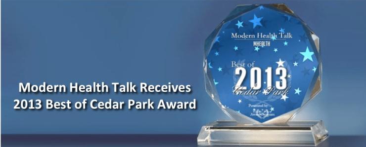 2013 Best of Cedar Park Award