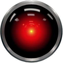 In the movie, 2001: A Space Odyssey, HAL (Heuristically programmed ALgorithmic computer) kept a watchful eye on the crew.