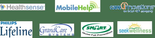 Fall Monitoring Logos