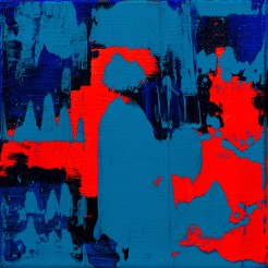 Untitled (blue red aquamarine)