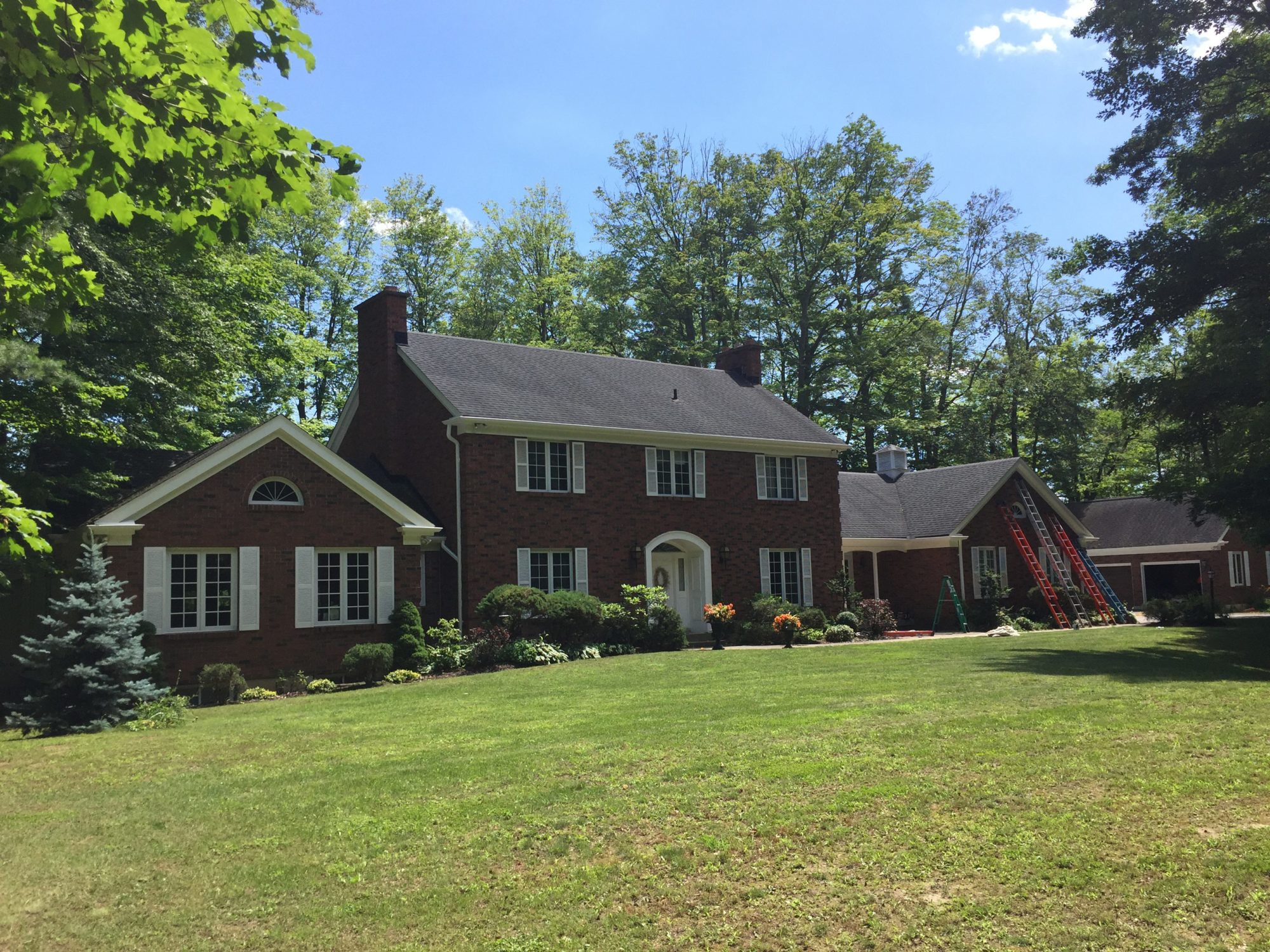 Soffit/Facia/Eaves/Windows | MH Paint Contracting