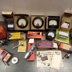 Vintage Electronic Parts