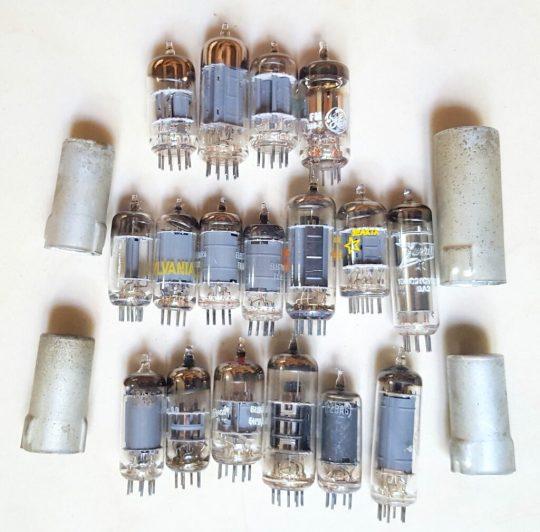 Drake TR4 Transceiver Full set of tubes