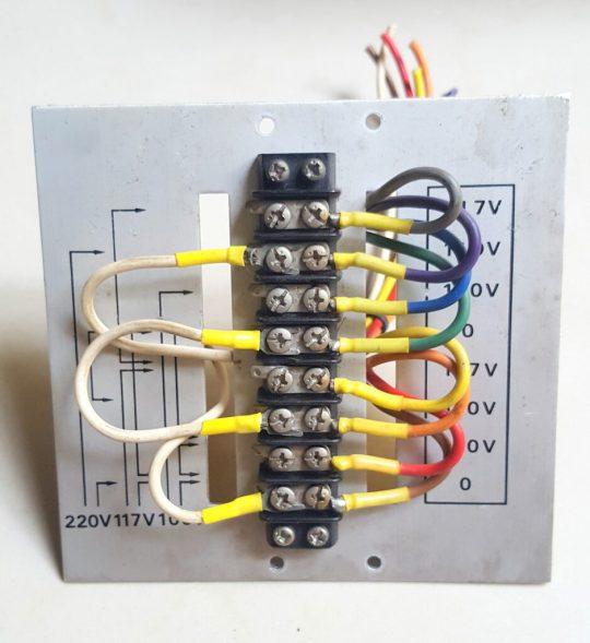 Yaesu FL-2100 Aluminum Internal AC Connections Plate