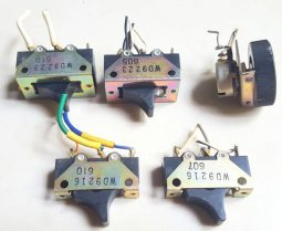 Yaesu FL-2100  Original Switch Buttons Lot of (5)