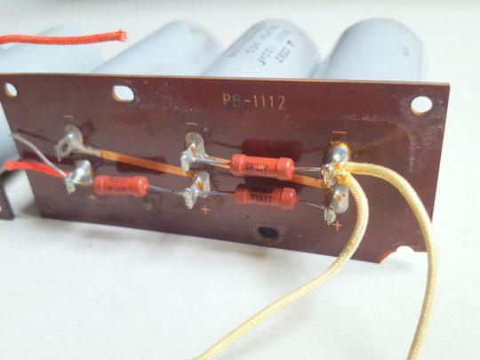 Yaesu FL-2100 Original Capacitors with boards