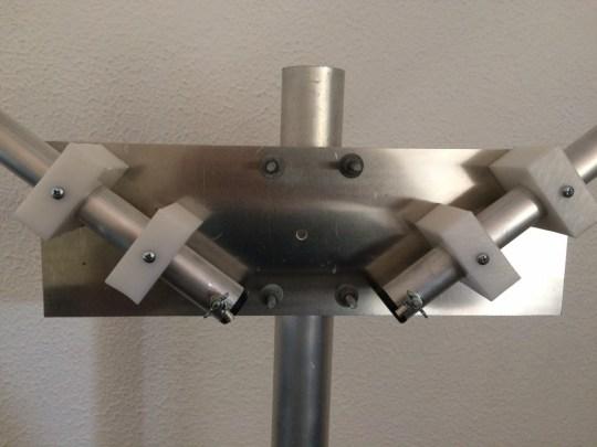 DIEX ANTENA DIPOLO ROTATIVA PARA 15 M - DXFS15V FULL SIZE EM V