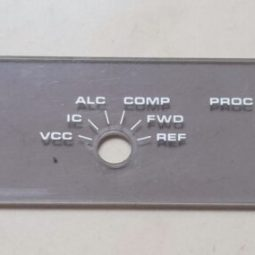 YAESU FT-107M Front Plastic Display Protector