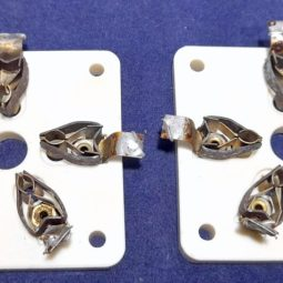 Kenwood TL-922 Original Ceramic Tube BAse Used Pair