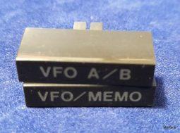 Icom IC-760 Pro , IC-765 Original VFO Buttons
