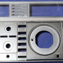 Icom IC-760 Pro , IC-765 Original Front Face Used
