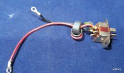 Yaesu FT-80C Original AC Back Connector Used