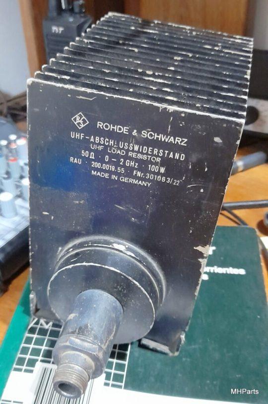 Rohde & Schwarz 100 W, 50 Ohm N-Type 0-2 GHz Dummy Load Used
