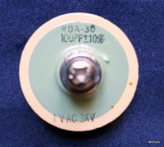 1 UND Yaesu FL-2100Z Original Doorknob RDA-30 100 PF 3 KV Used