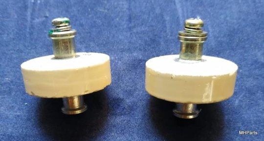 1 UND Yaesu FL-2100Z Original Doorknob RDA-30 1000 PF 3 KV Used