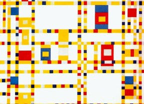 Poem: Broadway Boogie Woogie by Piet Mondrian