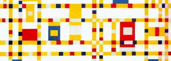 Poem: Broadway Boogie Woogie by Piet Mondrian