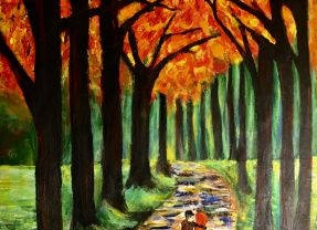 Painting by Maha Shafiq