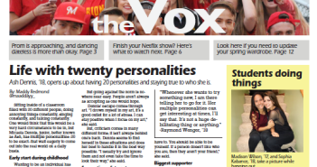 The Vox, Issue 6, April 19, 2017
