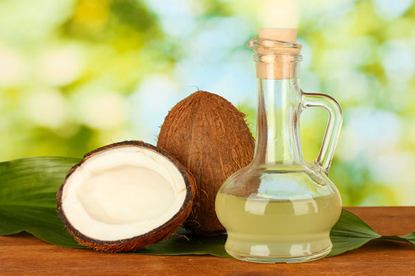 hair and scalp restoration with coconut oil