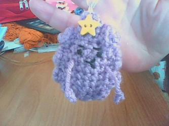 Lumpy Space Princess made by Kristen. Love her!