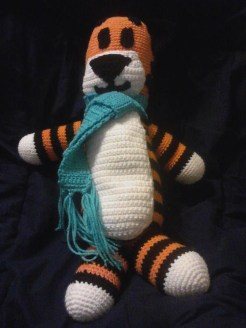 Hobbes made by Adrienne. It looks so lovely!