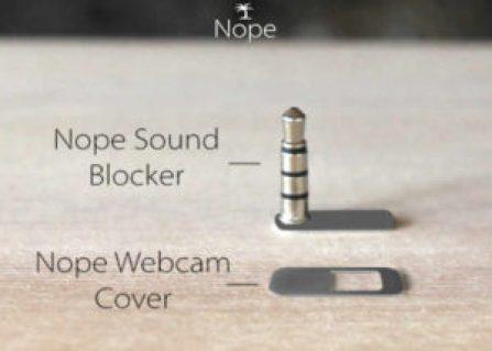 Nope Sound Blocker And Webcam Cover