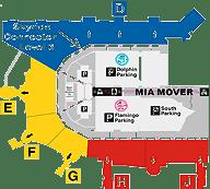 Miami International Airport Terminal Gates Miami