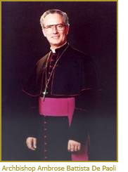 Archbishop Ambrose Battista De Paoli