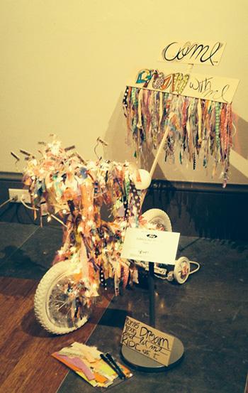ARTCYCLE: Bikes Become Art - Carolina Molina.