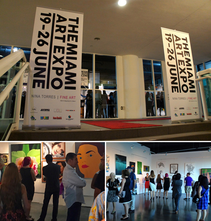 Opening Night at Miami Expo 2015