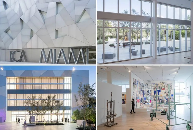 Exterior of the Institute of Contemporary Art, Miami. Photos by Iwan Baan.